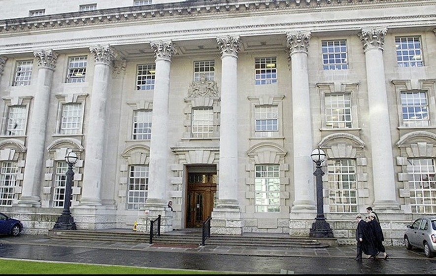 Man found with stolen van keys in his sock, court hears