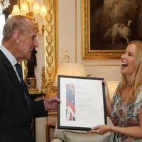 Kylie Minogue shares memories of meeting Duke of Edinburgh