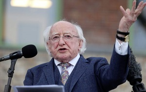President Michael D Higgins turns 80