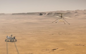 Nasa's Ingenuity helicopter set for first ever controlled flight on Mars