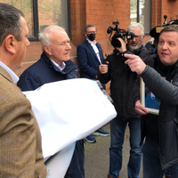 Brother of loyalist murder victim disrupts NI Protocol protest