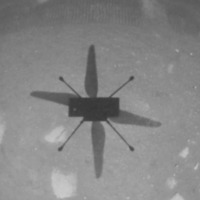 Nasa's Ingenuity makes history with first controlled flight on Mars