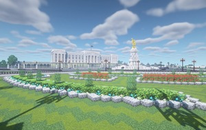 Royal family 'nerd' recreates Buckingham Palace in Minecraft