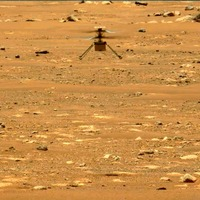 Nasa's Mars helicopter Ingenuity soars higher and longer on second flight