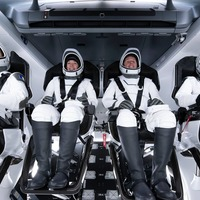 Thomas Pesquet becomes first European to blast off on SpaceX's Dragon capsule