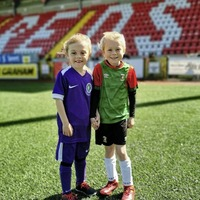 Children flock to Solitude for return of the Beautiful Game