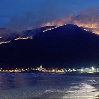 Mourne Mountains: Assistant fire chief thanks all for support