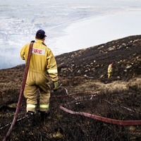 Major blaze on Mourne Mountains described as `one of the most challenging' ever