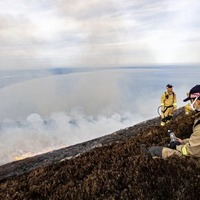 Devastating Mourne Mountains fire believed to have been started deliberately