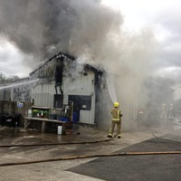 Fire at Ballymoney tyre centre 'started accidentally'