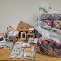 Police seize drugs and cash during searches in the Mid Ulster area
