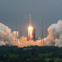 China launches main part of its first permanent space station