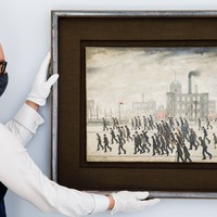 LS Lowry painting valued over £2 million to go on show for first time since 1966