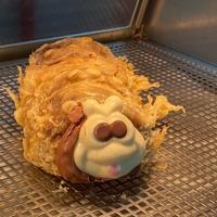 Colin the Batterpillar: Marks & Spencer cake deep fried by Scottish chip shop