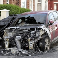 Man whose car was set alight outside north Belfast home describes 'terrifying' ordeal