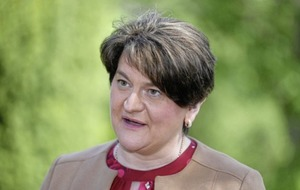 Warm words for outgoing first minister Arlene Foster across Assembly chamber