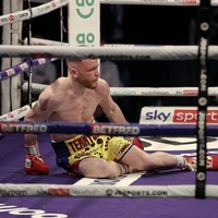 James Tennyson will fight back in new weight division says manager Mark Dunlop