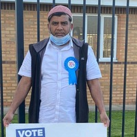 'BoJo of Blackburn' upstaged by rude graffiti as campaign video goes viral