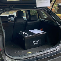 Polling station set up in car boot 'after church warden overslept'