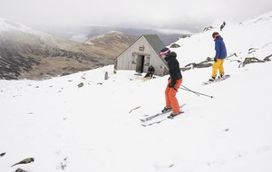 Unseasonal snow gives skiers a chance to return to the slopes