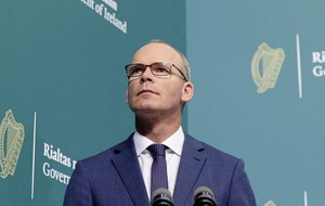 Simon Coveney says pressure to find NI Protocol solutions before marching season as more loyalist protests planned