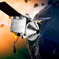 Nasa spacecraft begins two-year trip home with asteroid rubble