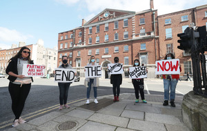 Protests staged outside maternity hospitals in Republic as Covid restrictions rumble on