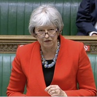 Theresa May tells British government that protection for veterans will apply to paramilitaries as well