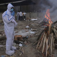Indian authorities confirm another 4,205 deaths amid coronavirus surge