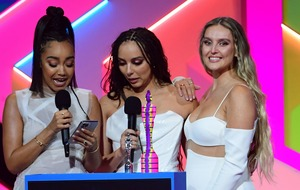 Little Mix thank Jesy Nelson as they make history at the Brits