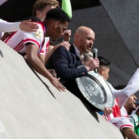 Dutch club Ajax melts league trophy into star gifts for fans