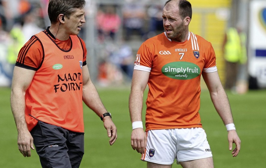 Kieran Donaghy trying to maximise Armagh's attacking riches: Ciaran McKeever