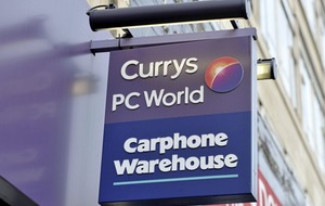 Dixons, Carphone Warehouse and PC World to be rebranded as Currys