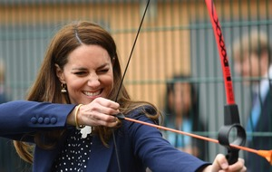 William and Kate tested by sporting challenges on day of activities