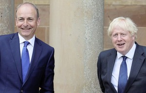 Taoiseach Micheál Martin to meet British prime minister Boris Johnson amid continued protocol concerns
