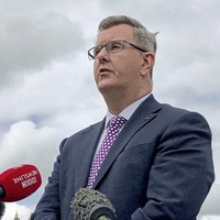 Sir Jeffrey Donaldson says he wants to become first minister as DUP prepare to vote for new leader