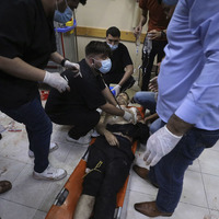 Israeli artillery pounds Gaza ahead of possible ground incursion