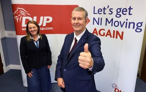 From cancer operation to new DUP leader - Edwin Poots' remarkable start to 2021