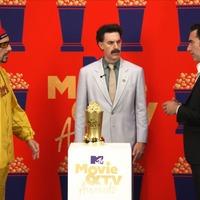 Sacha Baron Cohen brings back Ali G, Borat and Bruno at awards show