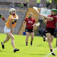 Lucia McNaughton keeps feet on the ground after Antrim camogs pull off surprise win against Down