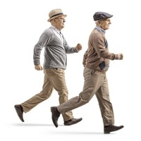 Want to take a simple step towards getting fitter? Walk fast