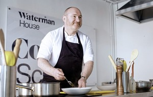 Chef McKenna gets fired up for opening of new cookery school