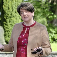 Arlene Foster warns that the north 'can't look back' as she prepares to stand down as DUP leader