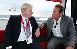 Arnold Schwarzenegger says Boris Johnson is the 'real deal'