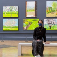 David Hockney exhibition unveiled at the Royal Academy