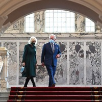 Charles and Camilla learn about Belfast's history at start of two-day visit