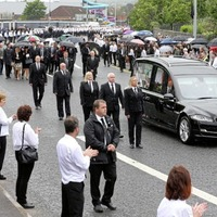 Bobby Storey funeral: Police probing if security was sub-contracted to people with no insurance or licences