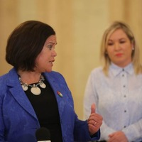 Sinn Fein's Mary Lou McDonald plays down lack of meeting with Prince of Wales