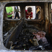 Israel unleashes more air strikes after vowing to press on with Gaza operation