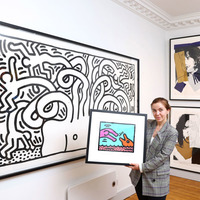 Exhibition showcasing pop art's Andy Warhol and Keith Haring opens in Dublin